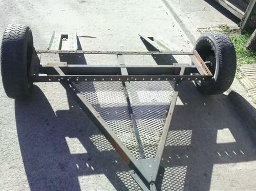 trailer auxilio dolly remolque - uso pesado.