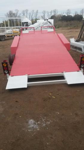 trailer  auxilio mecanico 5tn traslado remolque de vehículos