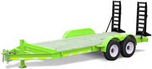 trailer balancin 7 ton. (4 y 12 cheques)