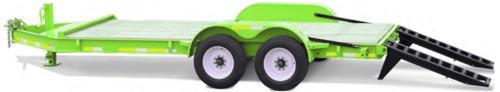 trailer balancín autoelevador minicargador 5 ton (4 cheques)