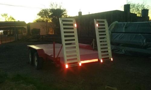 trailer balancín cap. 4000 kg.