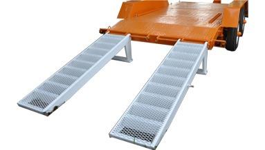 trailer balancin para transportar minicargadora/autoelevador