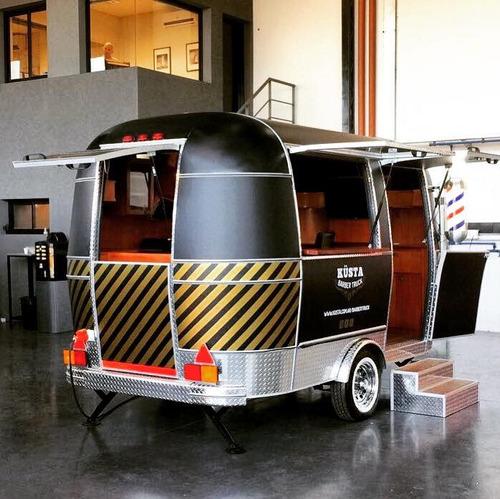 trailer barbería trailer multirubro vintage