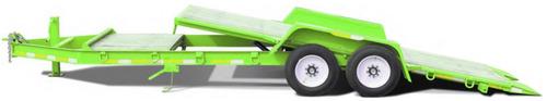 trailer basculante 7 ton. (3/6 cheques)