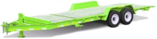 trailer basculante 7 ton. (4 y 12 cheques)