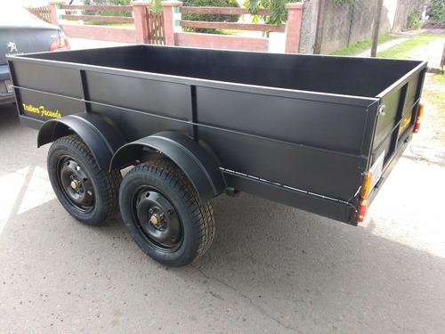 trailer batan 1500 kg doble eje  stock permanente