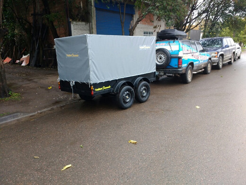 trailer batan 1500 kg doble eje  stock permanente