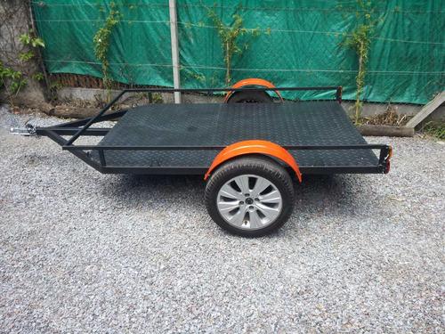 trailer batan cuatri karting moto