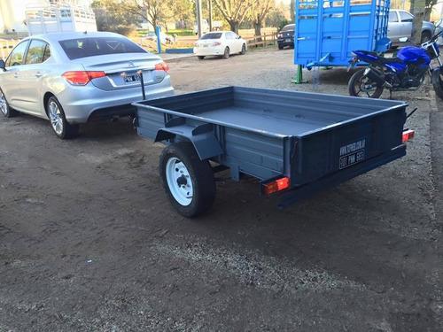 trailer batan cuatri mini tractor moto cargas generales