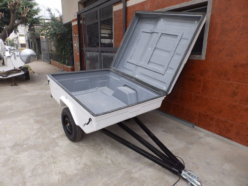 trailer batan de fibra de vidrio promocion! trailers milione