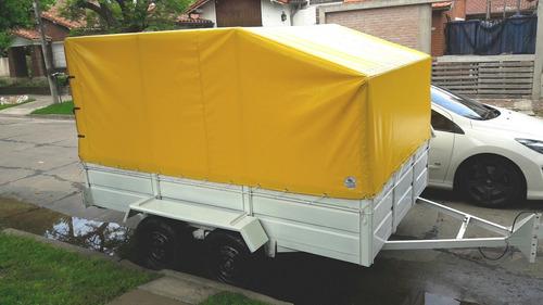 trailer batan doble eje balancin,livianos ,pesados