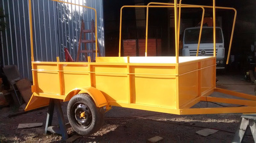 trailer batan para cargas generales de 2.00 mts x 1.20