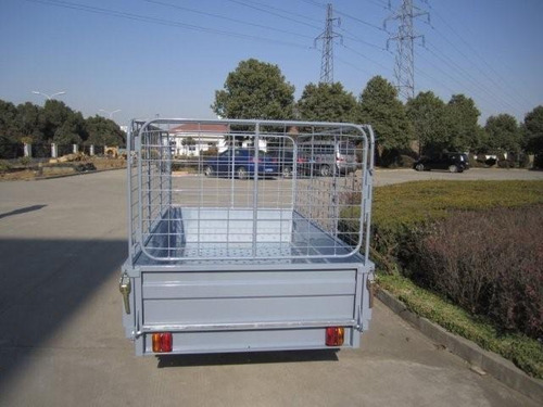 trailer box con jaula hasta 750 kg