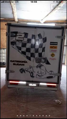 trailer box que excelente estado