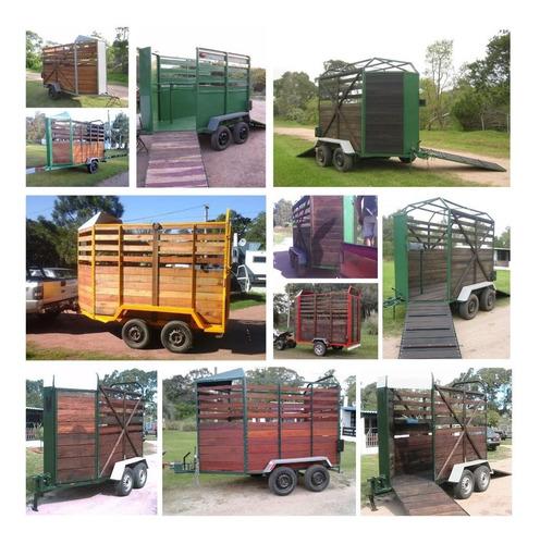 trailer caballo auto moto fabricacion