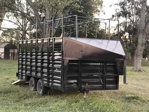 trailer caballos de polo 12 caballos nuevo año 2017