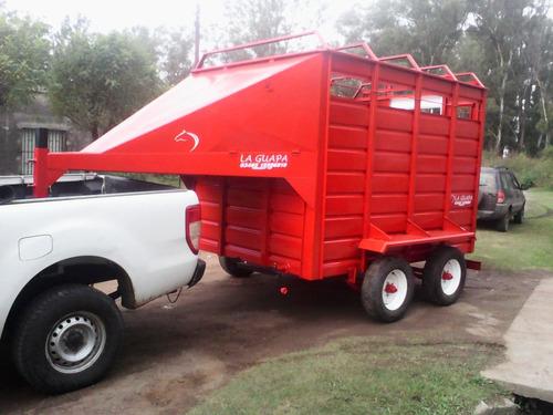 trailer caballos tipo americano la guapa
