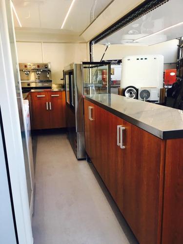 trailer cafetería coffee truck homologado
