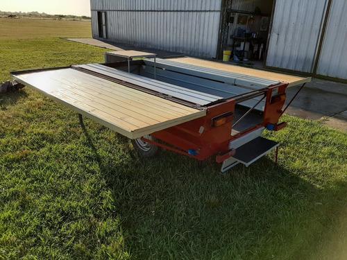 trailer capa automatico delta largo( 2.4 mtrs) con comedor