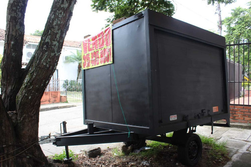 trailer carga 1 tonelada o para carro comidas rapidas bueno