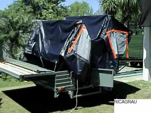 trailer carpa automatico armado 30 seg,,0km plan ahorro