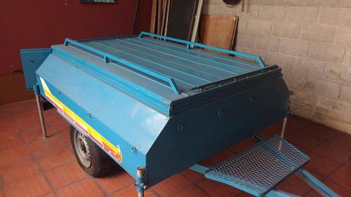 trailer carpa con avance y equipamiento