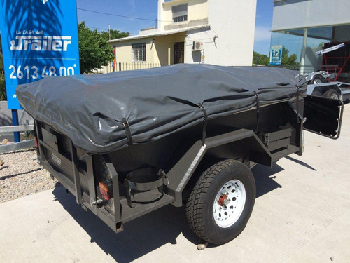 trailer carpa totalmente equipado