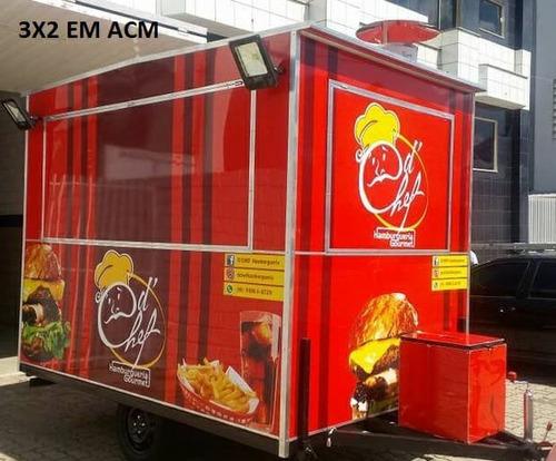 trailer carretinha food truck food trailer treiler