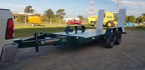trailer carreton patentable 6ton 5mts c/freno tecnar t6000