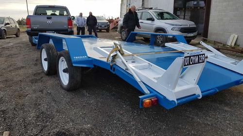 trailer carreton patentable 7.5t 5mts c/freno tecnar trl7500