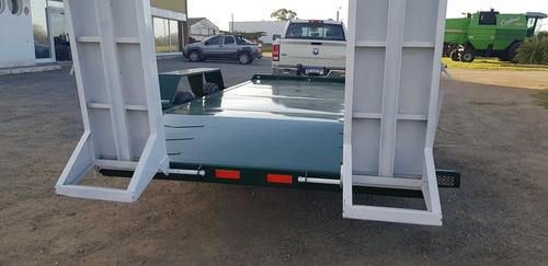 trailer carreton patentable 7.5ton 5mts c/freno tecnar t7500