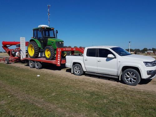 trailer carreton playo tecnar tcbc4000 p/4 ton cisne 5 mt