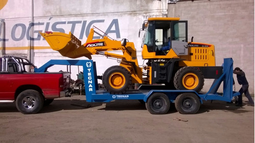 trailer carreton tecnar c/ cigueña p/ 4 ton 5 mt d tc4000