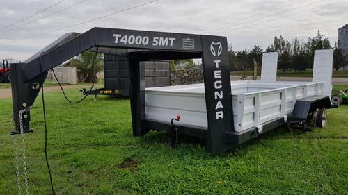 trailer carreton tecnar cisne p/ 4 t 5 mt d tc4000 patentabl