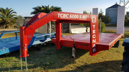 trailer carreton tecnar cisne tcbc6000 6t 5mts  patentable
