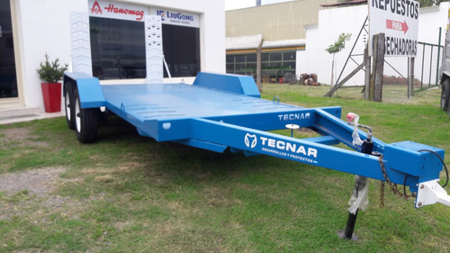 trailer carreton tecnar  m t2700 3 ton p/ auxilio  vehiculos