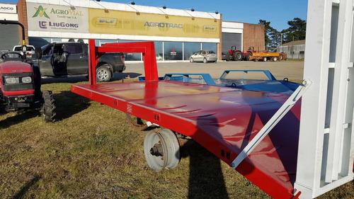trailer carreton tecnar m tcbc6000 6t 5mts cisne patentable