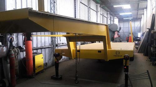 trailer carreton tecnar t 12000 p/12 a 14 ton balancin