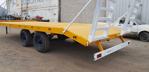 trailer carreton tecnar t 8000 p/9 ton p/ retropa patentable