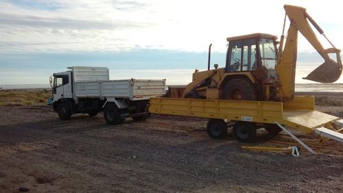 trailer carreton tecnar t 8000 p/9 ton p/ retropa patentable