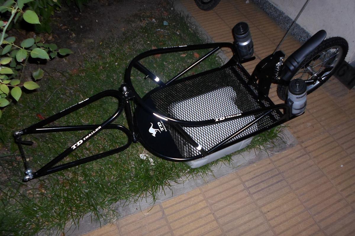 5f05d2309 Trailer, Carrito Con Amortiguador Para Bicicleta. - $ 9.960,00 en ...