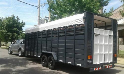 trailer carro 8 caballos tecnar mof tce8 patentable nuevo