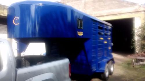 trailer carro para caballos