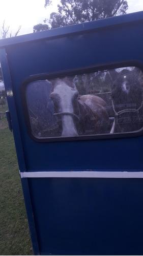 tráiler carro para dos caballos empadronado al día
