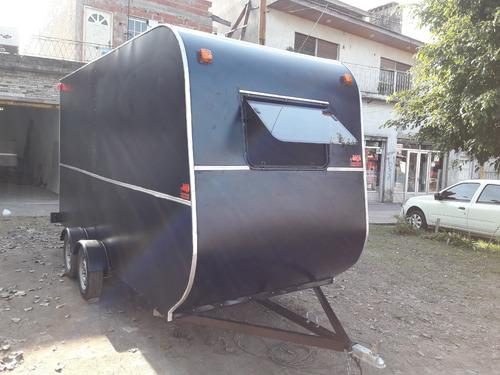 trailer cerrado 4 metros capasidad 1500kg dako trailers