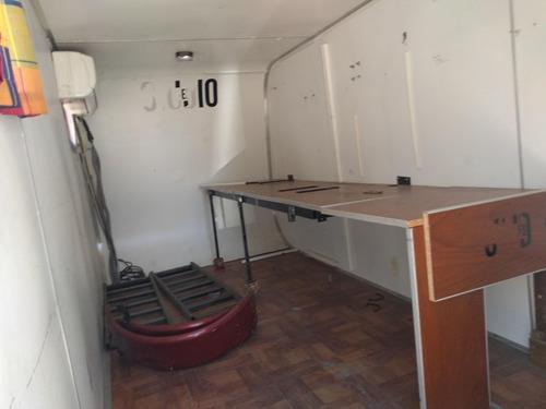 trailer cerrado kaisen ideal cuatriciclo aire acondicionado