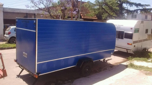 trailer cerrado para 2 cuatriciclos. somos fabrica
