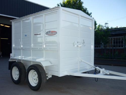 trailer cerrado taller rodante movil obrador 2tn financiado