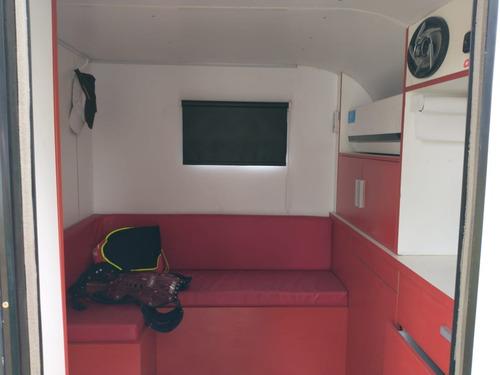 trailer cerrado tipo casilla