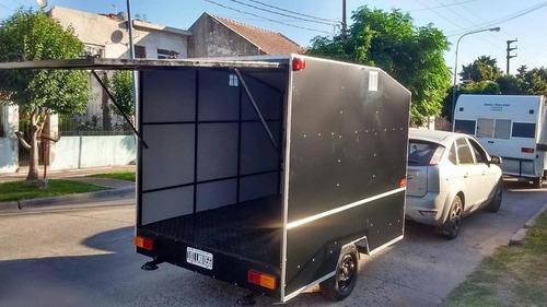 trailer cerrado. trailers y casas rodantes a medida.